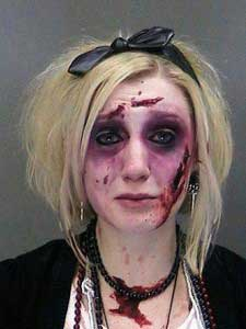 drunk zombie arrested for DUI