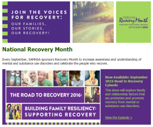 Recovery Month 2016
