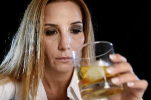 woman drinker