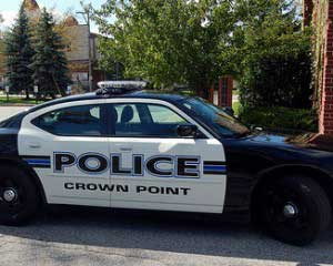 drunk driver crashes into crown point cop cars