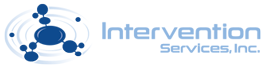 logo for intervention services inc